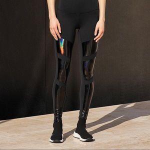 ALO YOGA High Waist Galaxy Moto Leggings